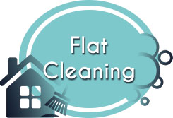 flat cleaning icon