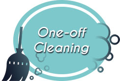 one-off cleaning icon